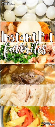 This week for our Friday Favoriteswe have some awesome Instant Pot Favorites like Mississippi Pot Roast Electric Pressure Cooker Version,Electric Pressure Cooker Chicken Noodles,Perfect Instant Pot Roast,Instant Pot Hard Boiled Eggs,Electric Pressure Cooker Sweet Potatoes,Unstuffed Cabbage Soup Electric Pressure Cooker Recipe,Instant Pot Chicken Fajitas andInstant Pot Zuppa Toscana Soup.