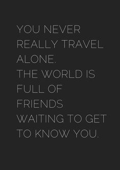 Motivational Solo Travel Quotes – Black & White : Solo Travel Quotes - Black & White - museuly Here are some great solo travel quotes (in black and white).Pleeease pin your favorites :) Hope you enjoyed these black and white solo travel quotes! Quotes To Live By, Me Quotes, Motivational Quotes, Inspirational Quotes, The Words, Wasted Rita, Solo Travel Quotes, Travel The World Quotes, Best Travel Quotes