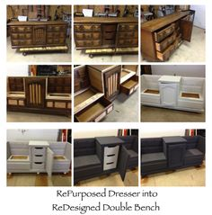 repurposed furniture before and after | Tattered Gypsy before and after repurposed furniture and decor ...