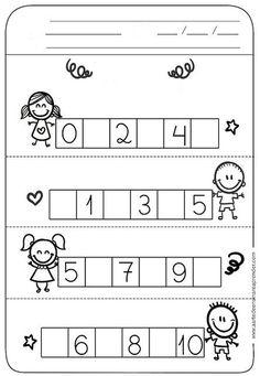 Task Shakti - A Earn Get Problem Atividade Pronta - Sequncia Numrica Preschool Writing, Numbers Preschool, Preschool Printables, Kindergarten Math Worksheets, Worksheets For Kids, Preschool Activities, Pre Writing, Math For Kids, Kids Education