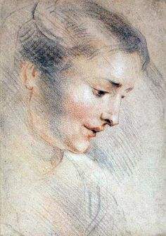 Jean-Antoine Watteau Study of a Woman's Head 1710s