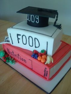 Nutrition cake for college graduation!