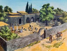 Judea Rome In Agricultural Communities People Lived Small Compact Villages Called