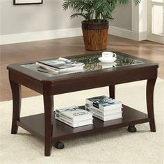 Bancroft Caster Coffee Table I Riverside Furniture