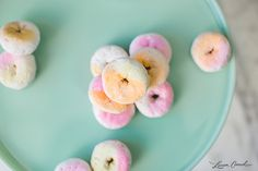 Edible Obsession: Spray Paint Powdered Sugar Donuts