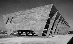 1954 Museum of Modern Art   Architect: Affonso Eduardo Reidy   Rio De Janeiro, Brazil