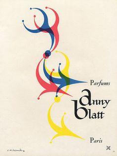 Anny Blatt 1947 Cassandre