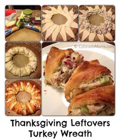Beautify your Turkey leftovers as you recycle, reduse and reuse with a growing creative trick: Turkcrescents