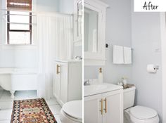 Bathroom Makeover | My Hands Made It