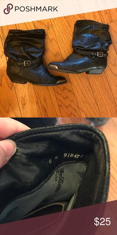 Vintage Jodiac USA Cowboy Boots. These have been worn. Vintage. Come with box. Jodiac USA Shoes