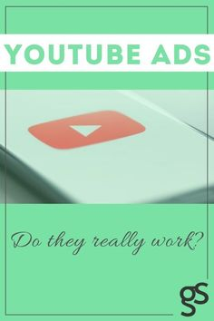 Learn whether or not YouTube advertising is a meaningful investment for your business. Wondering if YouTube ads work? Click to read. #YouTubeadvertising #YouTubeads #YouTubeadcampaigns #successfulYouTubeads #guidesocialglobal Youtube Advertising, Advertising Methods, Digital Marketing Channels, Pinterest Advertising, Social Media Marketing Business, Marketing Techniques, Ads, Content