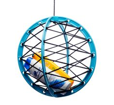 Pluk, a suspended storage sphere by FACO