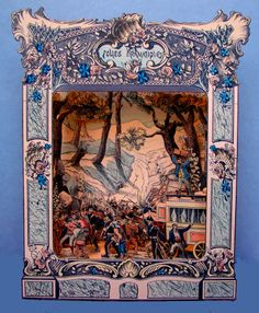 Folies Dramatiques Toy Theater from ilfavolosomondodi. Toy Theatre, Theater, Vintage Paper, Vintage Toys, Paper Toys, Paper Crafts, Victorian Toys, Tunnel Book, Hokusai