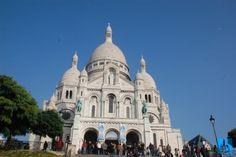 Printre cele mai frumoase obiective de văzut în orașul romantic Paris din Franța, este bazilica Sacre Coeur