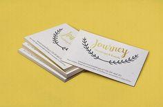 Journey Weddings & Events Logo & Business card design by SammyJackles
