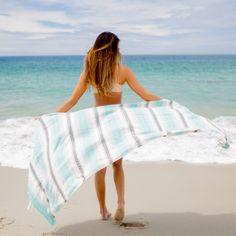 Seafoam Baja Beach Blanket