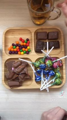 Food Flatlay, Hello Kitty Toys, Cute Kids Crafts, Homemade Slime, Japanese Snacks, Candy Bouquet, Candy Party, Candy Gifts, Dessert Recipes