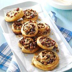 Cranberry Brie Pinwheels