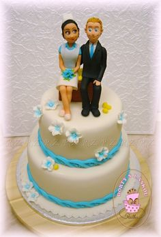 Svatební dorty :: Radka - Dorty s láskou Sweet Bar, Birthday Cake, Cakes, Desserts, Food, Tailgate Desserts, Deserts, Cake Makers, Birthday Cakes