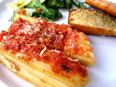 Manicotti on Pinterest | Cheese Manicotti, Chicken Manicotti and ...