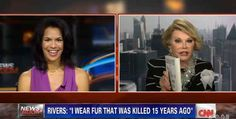 Joan Rivers stormed out of a interview today with CNN Newsroom host Fredricka Whitfield after she described Fashion Police as mean-spirited....