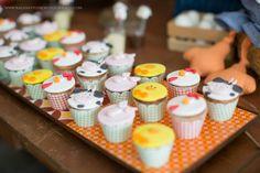 Cupcakes - Festa Fazendinha feita pela mamãe | Macetes de Mãe
