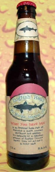 Dogfish Head 90 Minute Imperial IPA - Imperial/Double IPA