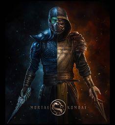 Escorpion Mortal Kombat, Mortal Kombat X Wallpapers, Video Game Characters, Marvel, Samurai, Pop Culture, Concept Art, Batman, Fan Art
