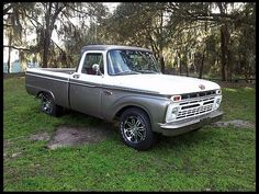 1965 Ford F100 Pickup...this truck is sexy. I'm in love.