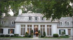 Wonderful windows and symmetry.  Imagine the lightness of the inside!
