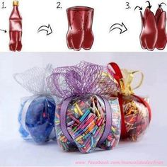 upcycle plastic drink bottles