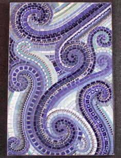 i love purple & mosaics.. so i love love (love) this