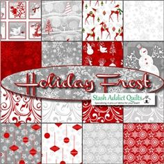Holiday Frost... my favorite Christmas fabric ;-)