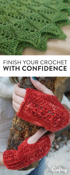 From edgings that every crocheter should have in the toolkit to best practices for blocking, learn how to finish crochet projects cleanly, confidently and beautifully using easy, essential techniques you can take into all of your projects.