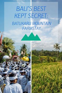 On the slopes of Mt.Batukaru lies the Batukaru Mountain Farmstay in the heart of an authentic Balinese farming community. Surrounded by mesmerizing scenery, you can visit temples, explore the paddies, trek in the jungle or simply relax and enjoy the peace