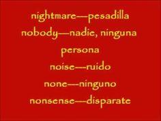 CURSO BASICO DE INGLES LECCION #42. VOCABULARIO DE 1000 PALABRAS EN INGLES
