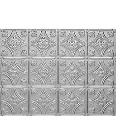 0604 Princess Victoria Tin Backsplash Tile Sheet