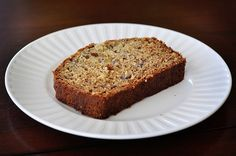 """For me, this Banana Bread is a treat. It takes a while to get a batch of bananas to become """"banana bread ready,"""" so in that regard, i..."""
