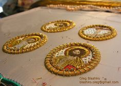 gold embroidery by Blazhko's gold embroidery, via Flickr
