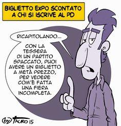 #IoSeguoItalianComics #satira #Pd #expomilano2015
