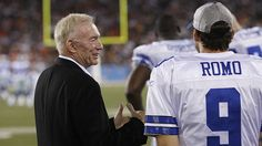 """Jones also feels confident that potentially keeping both Prescott and Romo on the roster isn't totally out of the question."" #Cowboys #Dallas #NFL #Football #TonyRomo #JerryJones #DakPrescott"
