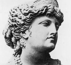 A bust of Helen of Troy