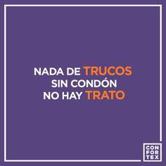 Con truco no hay trato !!! 🎃🎃 #halloween #trucotrato #condonesconfortex #confortex #condones #condoms #preservativos #safesex #desabores #sexoseguro #ideas #frases #humor #masculino #marcas #ideas #publicidad #color #divertido #vegano #diseño #comprarcondones #fiesta #condonesonline #ofertas #seguros #sexo #sex #photo #cartel #decolores #pinterest