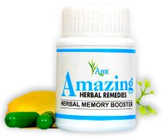 Herbal Memory Booster by Amazing Herbal Remedies is advertised as a herbal therapy and blend of some rare Ancient Indian Herbs, which are used from centuries to improves circulation towards the brain cells which are responsible for the memory retention. Researchers have established that the chief reason for poor memory is decreased blood supply to the brain. Natural herbal medicine helps in the proper circulation of blood into the brain, delivering the right amount of oxygen needed by it.