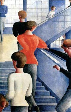 Escaleras de la Bauhaus, de Oskar Schlemmer Bauhaus. La escuela del arte, del diseño y la arquitectura del siglo XX