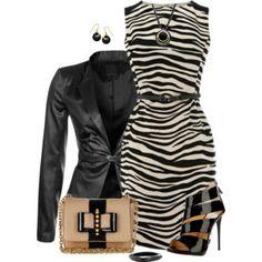 Dress and Blazer 2