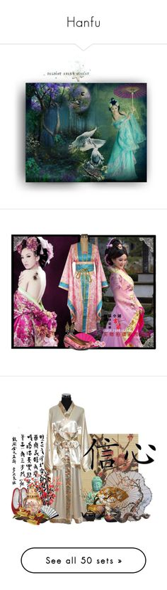 """""""Hanfu"""" by sunnofcreationn on Polyvore featuring art, Devon Leigh, La Regale, Gianmarco Lorenzi, Forzieri Murano, S.W.O.R.D., Tiffany & Co., Cartier, dresses and gowns"""