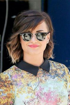DEMI LOVATO DARK SHADES