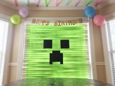 Epic Minecraft Birthday Party Ideas Minecraft party decorations