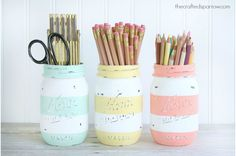 40 Homemade Mother's Day Gift Ideas --love these jars!